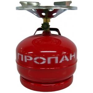 Плита газовая Кемпинг 5л Югагаз