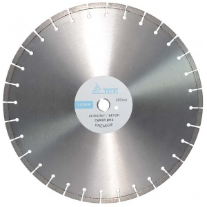 Диск алмазный ТСС 450x25.4мм Асфальт/бетон (Премиум)