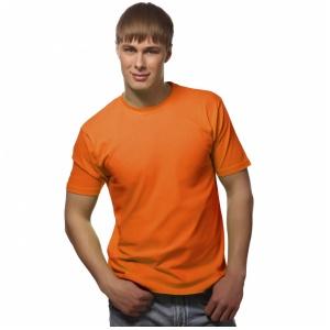 Футболка Узбекистан оранжевая