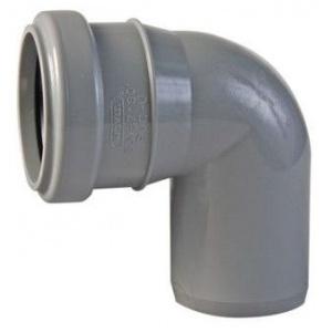 Колено канализационное полипропиленовое 50мм 87º