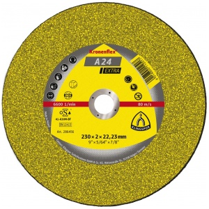 Круг отрезной Kronenflex А24 EXTRA 230х2x22.23мм металл