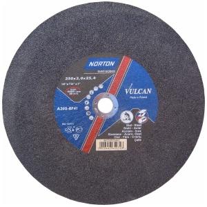 Круг отрезной Norton 350х3.0х25.4мм A30S-BF41 нерж. сталь
