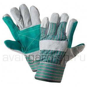 Перчатки спилковые комбинированные усиленные Докер