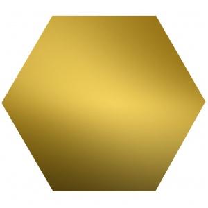 Шестигранник латунный ЛС59-1 22мм