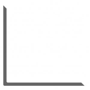 Уголок алюминиевый 20х20х2.5мм АД31