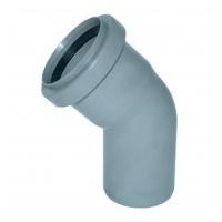 Колено канализационное полипропиленовое 50мм 45º