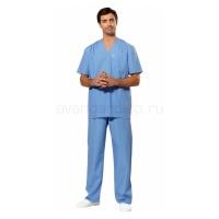 Костюм хирурга универсальный голубой