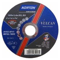 Круг отрезной Norton 125x1.6x22.23мм A46S-BF41 сталь