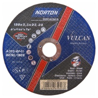 Круг отрезной Norton 150х2.5х22.23мм A30S-BF41 сталь