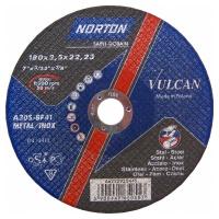 Круг отрезной Norton 180х2.5х22.23мм A30S-BF41 сталь