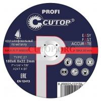 Круг зачистной Cutop 125х6х22.23мм A24T-4-BF Profi металл
