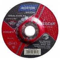 Круг зачистной Norton 125x6.4x22.23мм A30S-BF27 нерж. сталь