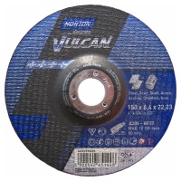 Круг зачистной Norton 150х6.4х22.23мм A30S-BF27 нерж. сталь