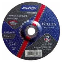 Круг зачистной Norton 180x6.4x22.23мм A30S-BF27 сталь