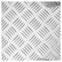 Лист алюминиевый рифлёный (Квинтет) 2х1500х3000мм 1050Н