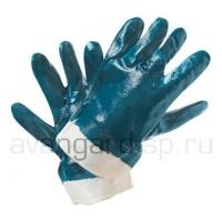 Перчатки нитриловые обливные манжет-крага