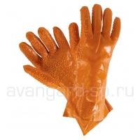 Перчатки рыбообработчика удлиннённые 35см