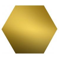 Шестигранник латунный ЛС59-1 19мм