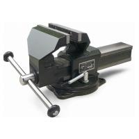 Тиски слесарные поворотные с наковальней Дело техники ТСС-100