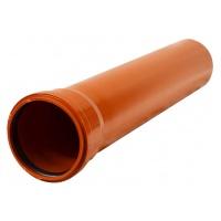 Труба канализационная ПВХ 110х3.2х1000мм